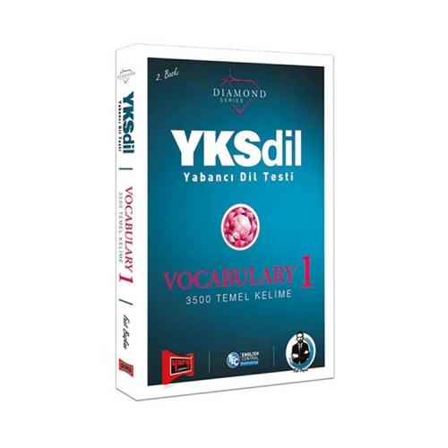 Yargı Yayınları YKSDİL Yabancı Dil Testi Vocabulary-1 Diamond Series