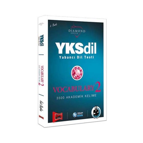 Yargı Yayınları YKSDİL Yabancı Dil Testi Vocabulary-2 Diamond Series