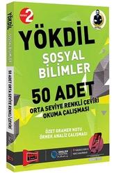 Yargı Yayınları - Yargı Yayınları YÖKDİL Sosyal Bilimler 50 Adet Orta Seviye Renkli Çeviri Okuma Çalışması