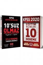Yargı Yayınları - Yargı + Yediiklim Yayınları 2020 KPSS Eğitim Bilimleri Tamamı Çözümlü Deneme Seti