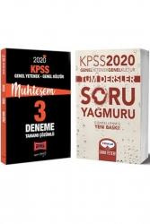 Yargı Yayınları - Yargı + Yediiklim Yayınları 2020 KPSS GY-GK Tüm Dersler Muhteşem Soru Deneme Seti