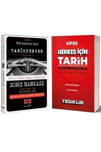 Yargı + Yediiklim Yayınları 2020 Tüm Adaylar İçin Alıştırmalarla Tarih Tekrar ve Soru Seti