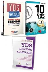 Yargı Yayınları - Yargı & Yediiklim & Pelikan Yayınları YDS 3 lü Deneme Seti