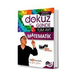 Yarı Çap Yayınları - Yarı Çap Yayınları Dokuz Günde Tüm AYT Matematik