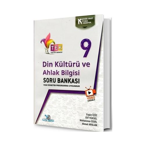 Yayın Denizi 9. Sınıf TEK Serisi Din Kültürü ve Ahlak Bilgisi Soru Bankası