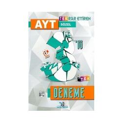 Yayın Denizi Yayınları - Yayın Denizi AYT Sözel Tekrar Ettiren TEK 3 lü Deneme