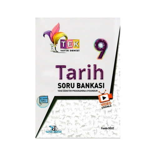 Yayın Denizi Yayınları 9. Sınıf TEK Serisi Video Çözümlü Tarih Soru Bankası