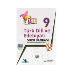 Yayın Denizi Yayınları - Yayın Denizi Yayınları 9. Sınıf TEK Serisi Video Çözümlü Türk Dili ve Edebiyatı Soru Bankası