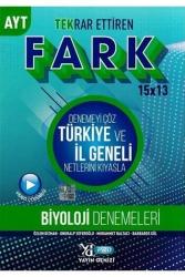 Yayın Denizi Yayınları - Yayın Denizi Yayınları AYT Biyoloji Fark 15x13 Tekrar Ettiren Denemeleri