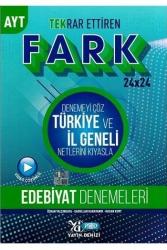 Yayın Denizi Yayınları - Yayın Denizi Yayınları AYT Edebiyat Fark 24x24 Tekrar Ettiren Denemeleri