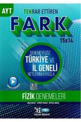 Yayın Denizi Yayınları - Yayın Denizi Yayınları AYT Fizik Fark Tekrar Ettiren 15 x 14 Denemesi