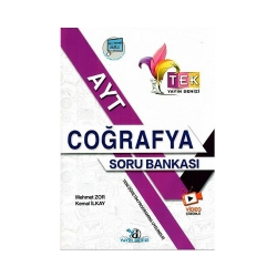 Yayın Denizi Yayınları - Yayın Denizi Yayınları AYT TEK Serisi Coğrafya Soru Bankası