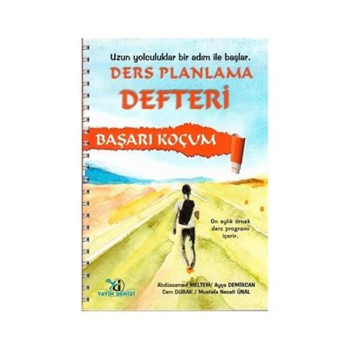 Yayın Denizi Yayınları Başarı Koçum Ders Planlama Defteri