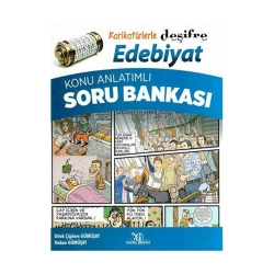 Yayın Denizi Yayınları - Yayın Denizi Yayınları Karikatürlerle Deşifre Edebiyat Konu Anlatımlı Soru Bankası