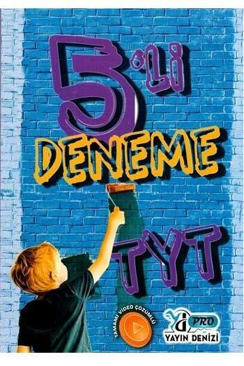 Yayın Denizi Yayınları - Yayın Denizi Yayınları TYT 5 li Pro Deneme
