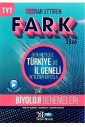 Yayın Denizi Yayınları - Yayın Denizi Yayınları TYT Biyoloji Fark 25x6 Tekrar Ettiren Denemeleri