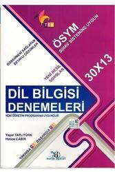 Yayın Denizi Yayınları - Yayın Denizi Yayınları TYT Dil Bilgisi TEK Serisi 30×13 Denemeleri