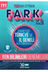 Yayın Denizi Yayınları - Yayın Denizi Yayınları TYT Fen Bilimleri Fark 14x20 Tekrar Ettiren Denemeleri