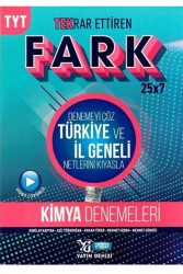Yayın Denizi Yayınları - Yayın Denizi Yayınları TYT Kimya Fark 25x7 Tekrar Ettiren Denemeleri