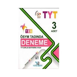 Yayın Denizi Yayınları - Yayın Denizi Yayınları TYT Ösym Tadında 3 Tek Serisi Deneme