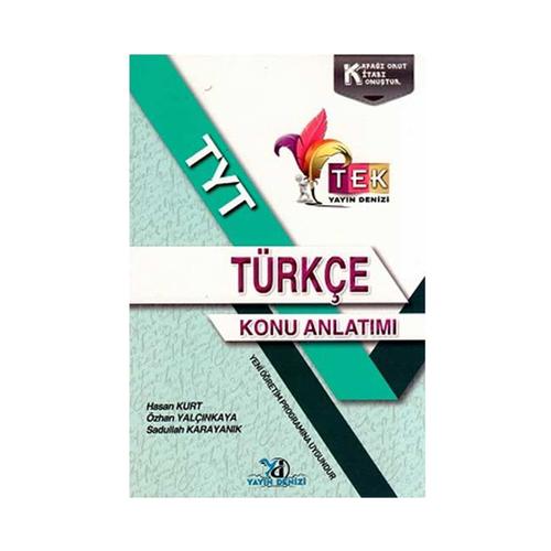Yayın Denizi Yayınları TYT TEK Serisi Türkçe Konu Anlatımlı