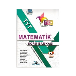 Yayın Denizi Yayınları - Yayın denizi Yayınları TYT TEK Serisi Video Çözümlü Matematik Soru Bankası
