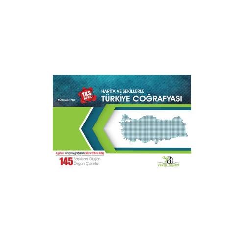 Yayın Denizi Yayınları YKS KPSS Harita ve Şekillerle Türkiye Coğrafyası