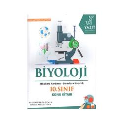 Yazıt Yayınları - Yazıt Yayınları 10. Sınıf Biyoloji Konu Kitabı