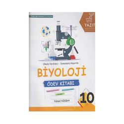 Yazıt Yayınları - Yazıt Yayınları 10. Sınıf Biyoloji Ödev Kitabı