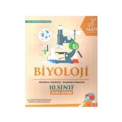 Yazıt Yayınları - Yazıt Yayınları 10. Sınıf Biyoloji Soru Kitabı