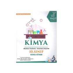 Yazıt Yayınları - Yazıt Yayınları 10. Sınıf Kimya Konu Kitabı