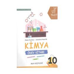 Yazıt Yayınları - Yazıt Yayınları 10. Sınıf Kimya Ödev Kitabı