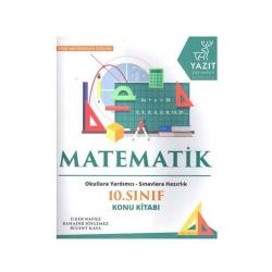Yazıt Yayınları - Yazıt Yayınları 10. Sınıf Matematik Konu Kitabı