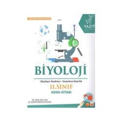 Yazıt Yayınları - Yazıt Yayınları 11. Sınıf Biyoloji Konu Kitabı