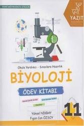 Yazıt Yayınları - Yazıt Yayınları 11. Sınıf Biyoloji Ödev Kitabı