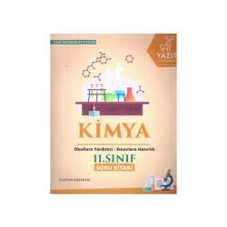 Yazıt Yayınları - Yazıt Yayınları 11. Sınıf Kimya Soru Kitabı