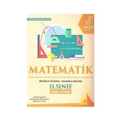 Yazıt Yayınları - Yazıt Yayınları 11. Sınıf Matematik Soru Kitabı