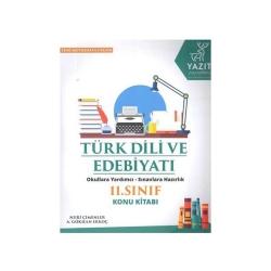 Yazıt Yayınları - Yazıt Yayınları 11. Sınıf Türk Dili ve Edebiyatı Konu Kitabı
