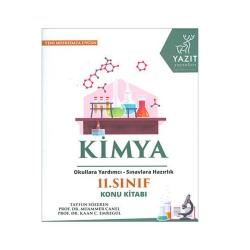 Yazıt Yayınları - Yazıt Yayınları 11.Sınıf Kimya Konu Kitabı