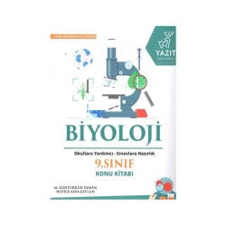 Yazıt Yayınları - Yazıt Yayınları 9. Sınıf Biyoloji Konu Kitabı