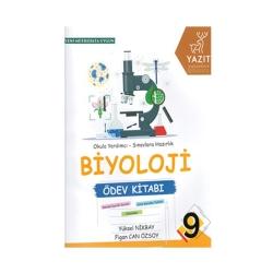 Yazıt Yayınları - Yazıt Yayınları 9. Sınıf Biyoloji Ödev Kitabı