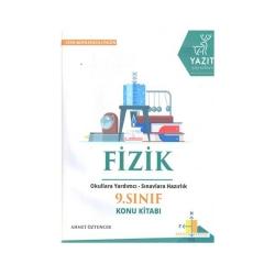 Yazıt Yayınları - Yazıt Yayınları 9. Sınıf Fizik Konu Kitabı