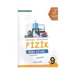 Yazıt Yayınları - Yazıt Yayınları 9. Sınıf Fizik Ödev Kitabı