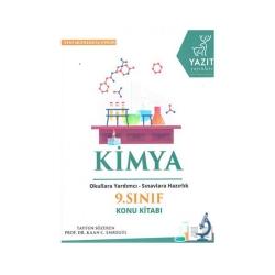 Yazıt Yayınları - Yazıt Yayınları 9. Sınıf Kimya Konu Kitabı