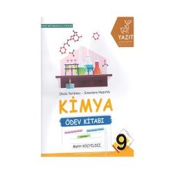 Yazıt Yayınları - Yazıt Yayınları 9. Sınıf Kimya Ödev Kitabı