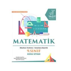 Yazıt Yayınları - Yazıt Yayınları 9. Sınıf Matematik Konu Kitabı