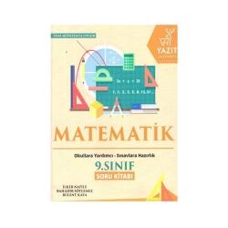 Yazıt Yayınları - Yazıt Yayınları 9. Sınıf Matematik Soru Kitabı