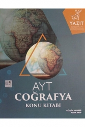 Yazıt Yayınları - Yazıt Yayınları AYT Coğrafya Konu Kitabı