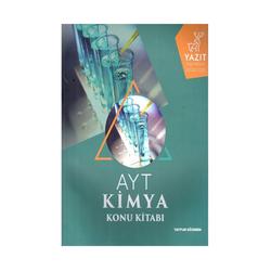 Yazıt Yayınları - Yazıt Yayınları AYT Kimya Konu Kitabı