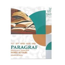 Yazıt Yayınları - Yazıt Yayınları TYT-AYT-KPSS-ALES-DGS Paragraf Soru Kitabı
